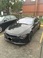 Immaculate bmw 6 series M pkg for sale(good trades are welcome)