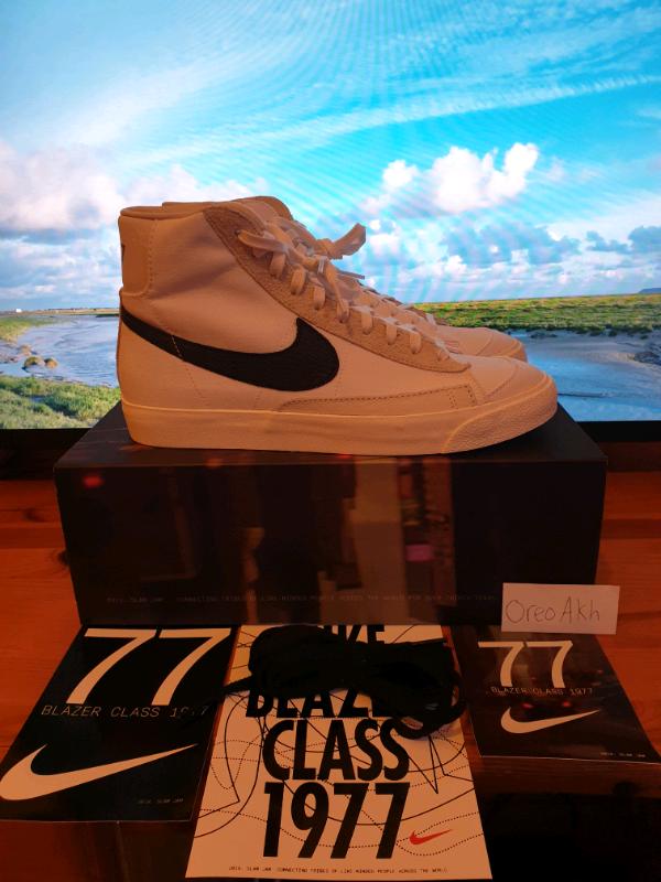 Nike Blazer Mid 77 Vintage Slam Jam Special Box size UK 8 | in ...