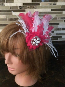 Bridal headpieces, Fascinators, hair clips, Feather headbands West Island Greater Montréal image 5