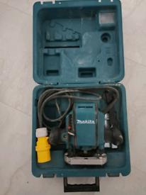 Makita 110v 1/4 inch router