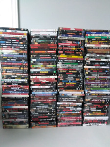 200 DVD's for $80