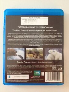 Nature's great events BBC Blu-ray disc 2 disc set Kingston Kingston Area image 2
