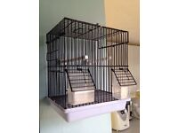 Bird Cage Small, Show Cage/Travel Cage