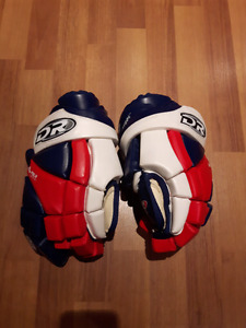 DR hockey gloves almost new 13""