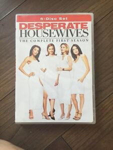 COMPLETE FIRST SEASON OF DESPERATE HOUSE WIVES