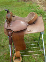 16 in WESTERN SADDLE WIDE TREE