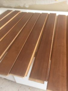 Bamboo flooring, pristine condition, cappuccino