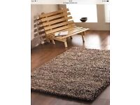 RUG NEW CHUNKY WOOL HAND KNOTTED DESIGNER REDUCED