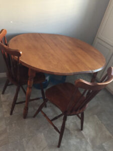 Hard wood table for sale
