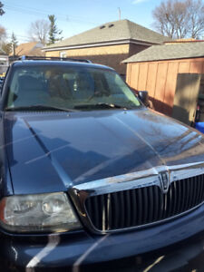 2003 Lincoln Aviator for sale or trade