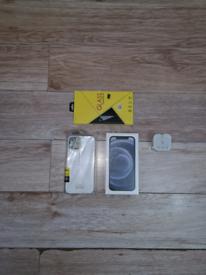 Rrp £829 New Sealed Iphone 12 5G Bundle Unlocked 64GB Blue I Phone