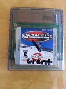 Shaun Palmer's pro snowboarder,  nintendo gameboy color game