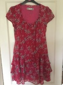 Crew Clothing floral dress size 10