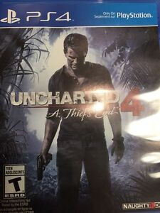 UNCHARTED 4 - BNIB SEALED - $35 SPECIAL