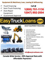 NEED A COMMERCIAL TRUCK LOAN – CALL 1(800) 701 1136