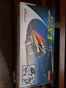Rc helicopter flown once