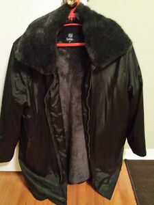 Black Ladies Coat- Large- $60 BRAND NEW by Reitmans