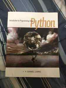 Intro to Programing Using Python Text Book In Good Condition!