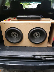Amazing sub and amp. $350