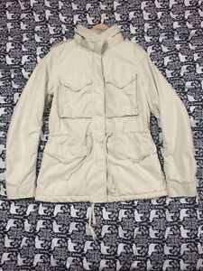 Denim and Supply Ivory Military style Coat XS