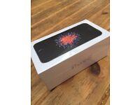 Apple iPhone SE Brand New Sealed 64GB O2/Giff Gaff/Tesco