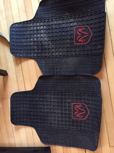 Dodge rubber floor mats