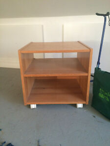 rolling shelf unit