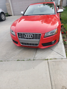 Audi A5 with S5 appearance
