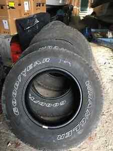 Goodyear Wrangler 265/70R17 Tire Set
