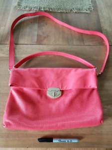 Banana Republic Coral Leather bag