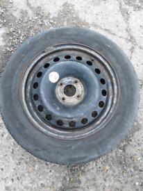 """16"""" Steel wheel fits Clio, Mini, Megane, Kangoo, Corsa etc (462)"""
