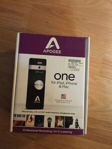 APOGEE One Recording interface