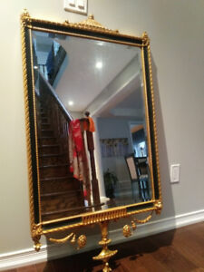 2 identical accent mirrors