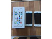 Iphone 5s 16gb in gold on ee