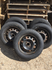for sale 05 Honda Civic tires and rims