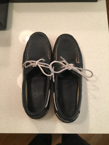 Mens Navy Sperry Boat Shoes