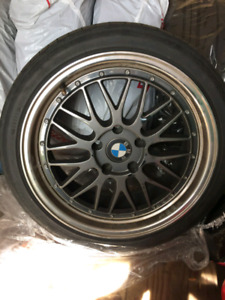 **URGENT** BMW SUMMER TIRES AND MAGS FOR SALE