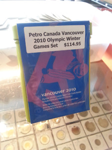 *2010**Vancouver Olympics, Complete Petro Can Sealed Quarter Set