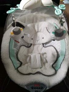 Little lamb Fisher price baby bouncer