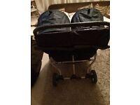 Baby jogger double pram buggy stroller ect