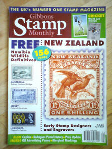 Gibbons Stamp Monthly Magazine April 2007