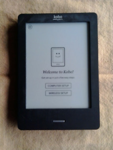 Kobo Touch plus gift card and cover