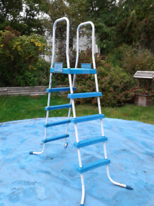 Used Intex  Pool Ladder for 16-18 foot Round Pool or Others