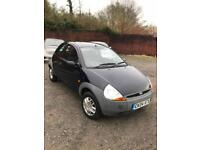 2004 Ford Ka+low miles 62k+11 month m.o.t