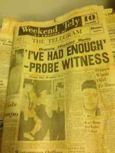 Old newspapers from 1963 Kitchener / Waterloo Kitchener Area image 6
