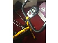 Exercise bike almost new