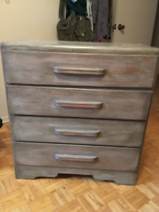 Rustic Solid Wood Chest