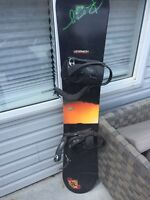 Woman's snowboard and/or boots