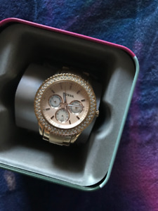 Fossil Watch (Rose Gold Stainless Steel)