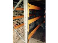 Pallet racking store age shelving